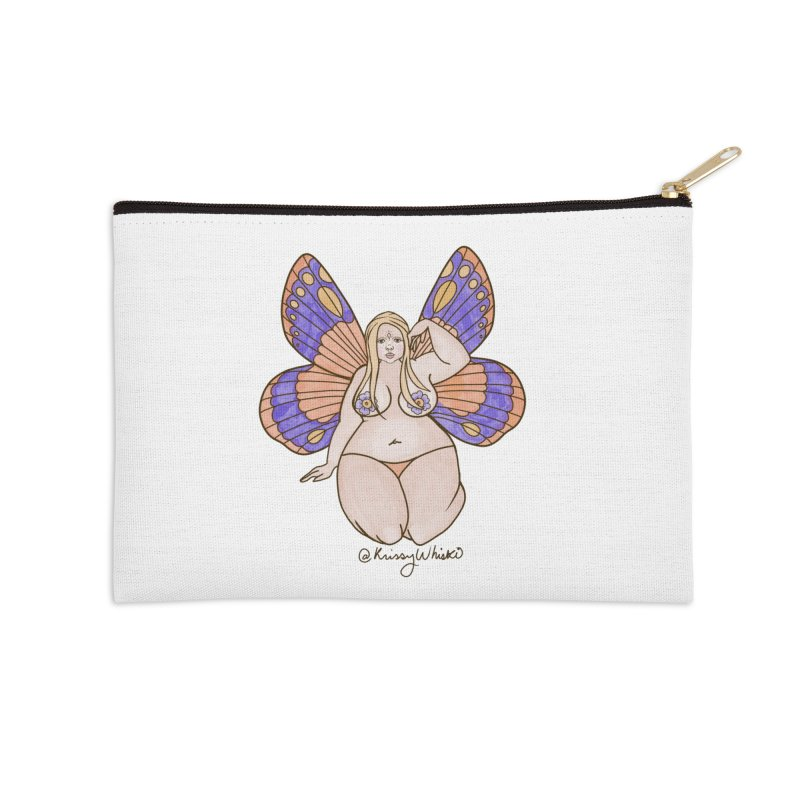 Fat Fairy Accessories Zip Pouch by Whiski Tee