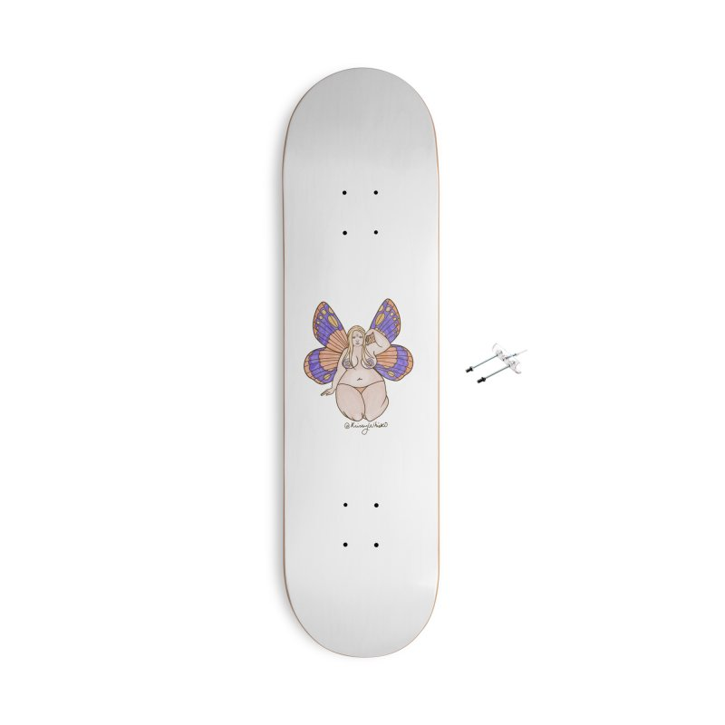 Fat Fairy Accessories Skateboard by Whiski Tee