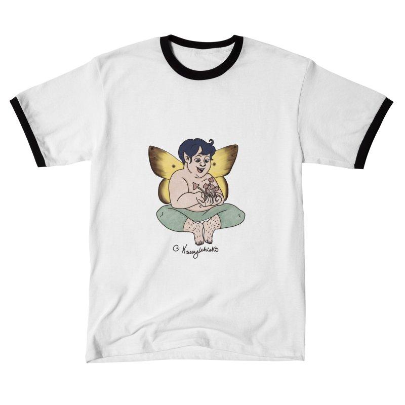 Magic Shroom Fae Men's T-Shirt by Whiski Tee