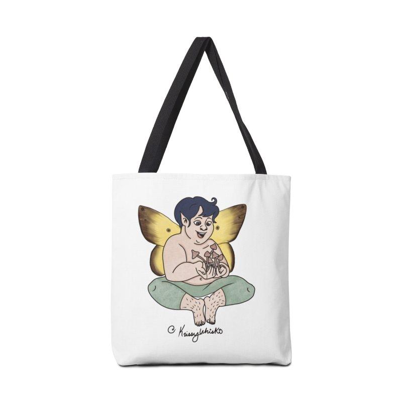 Magic Shroom Fae Accessories Bag by Whiski Tee
