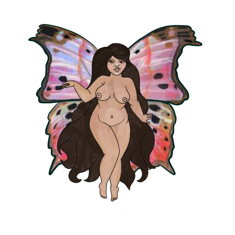 Plus sized Fairy Women's V-Neck by Whiski Tee