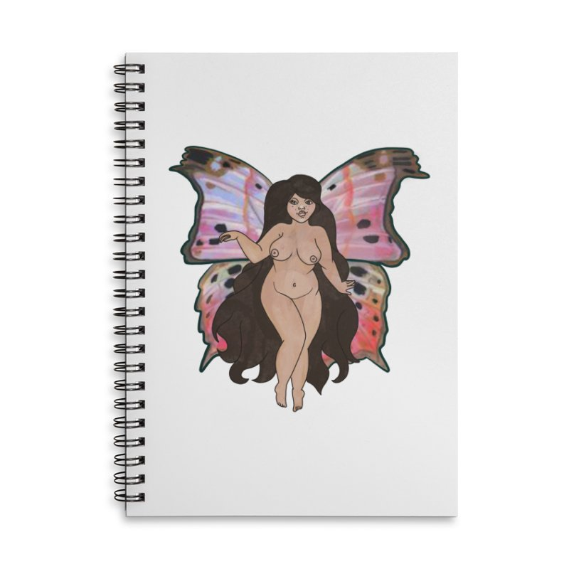 Plus sized Fairy Accessories Notebook by Whiski Tee
