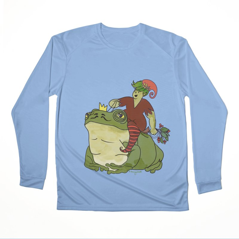 Elf and Frog King Women's Longsleeve T-Shirt by Whiski Tee