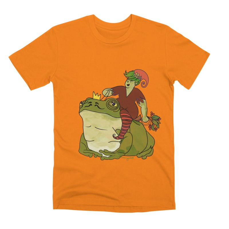 Elf and Frog King Men's T-Shirt by Whiski Tee