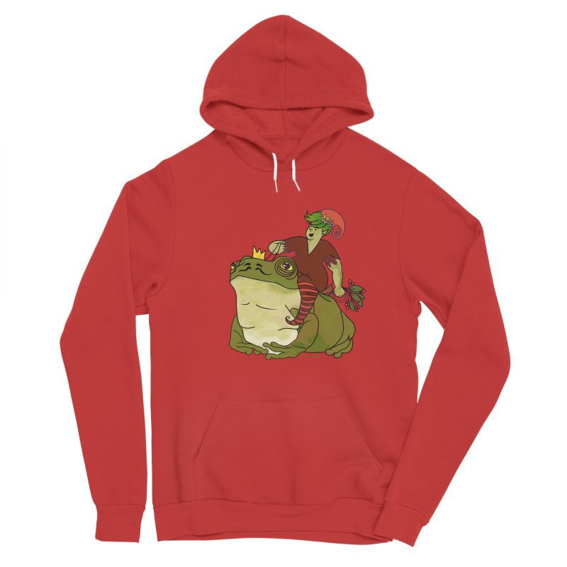 Elf and Frog King Men's Pullover Hoody by Whiski Tee