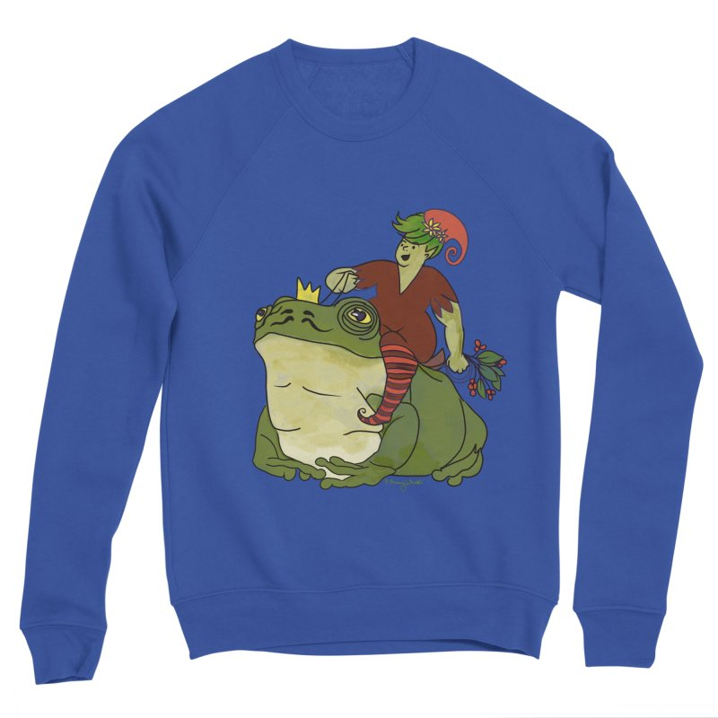 Elf and Frog King Men's Sweatshirt by Whiski Tee