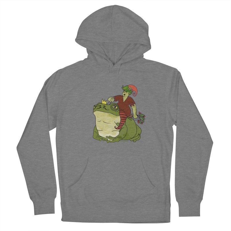 Elf and Frog King Women's Pullover Hoody by Whiski Tee