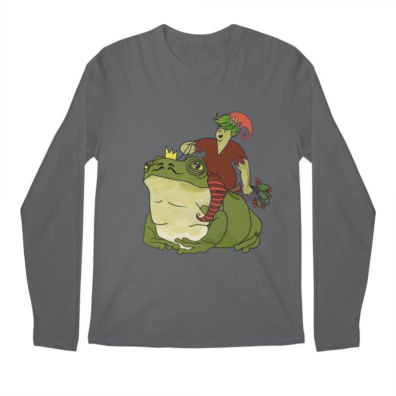 Elf and Frog King Men's Longsleeve T-Shirt by Whiski Tee