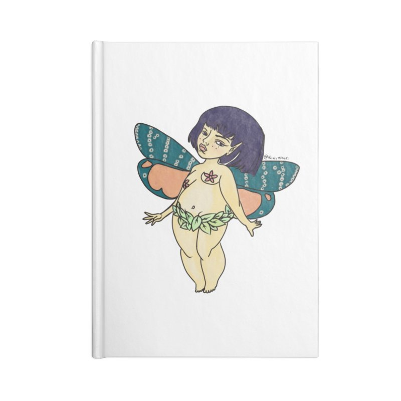 Curvy Fae Girl Accessories Notebook by Whiski Tee
