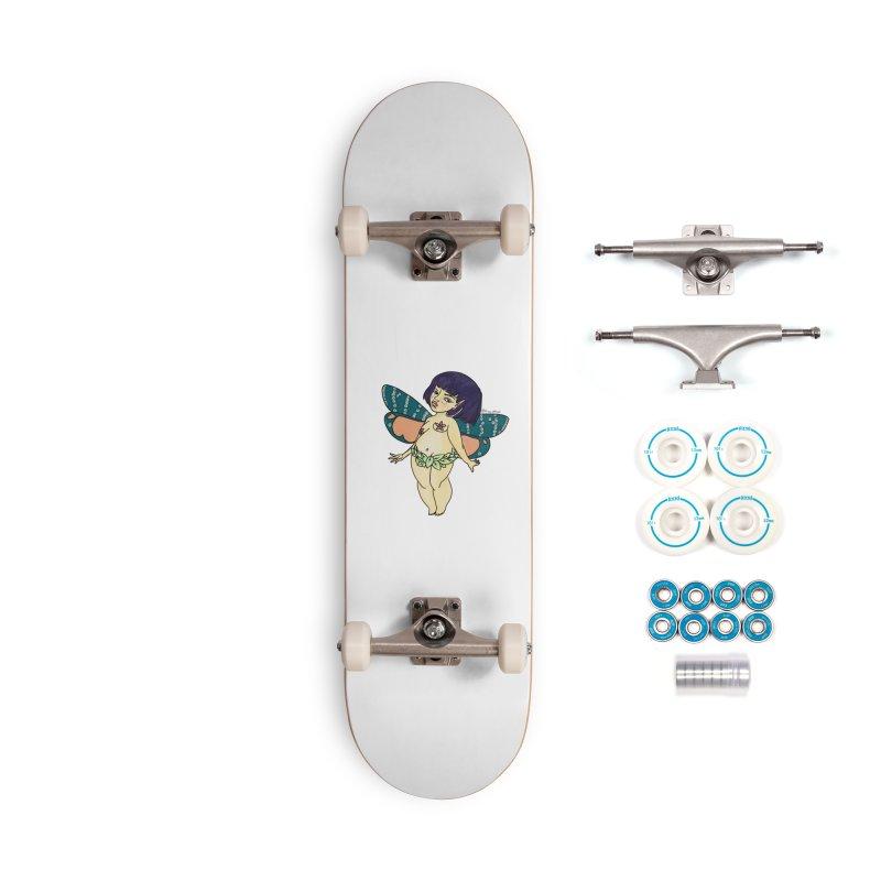 Curvy Fae Girl Accessories Skateboard by Whiski Tee