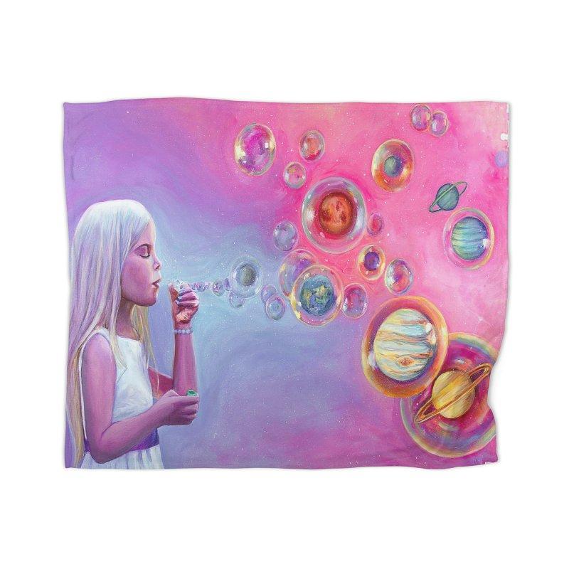 Star Child Blanket Home Blanket by Whiski Tee