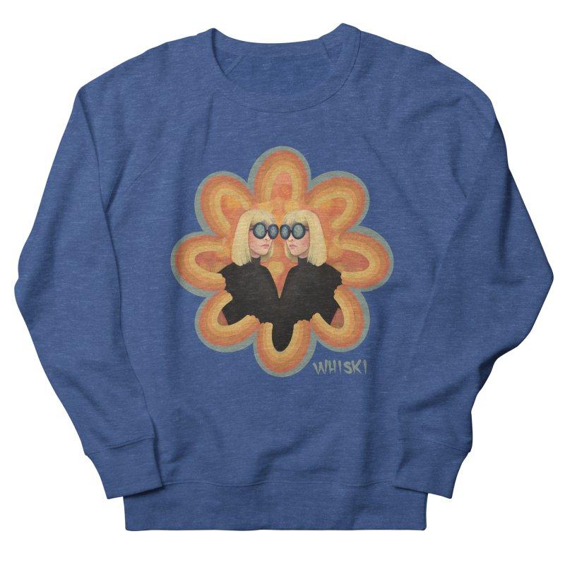 Retro Mod Evil Twins by Krissy Whiski Men's Sweatshirt by Whiski Tee