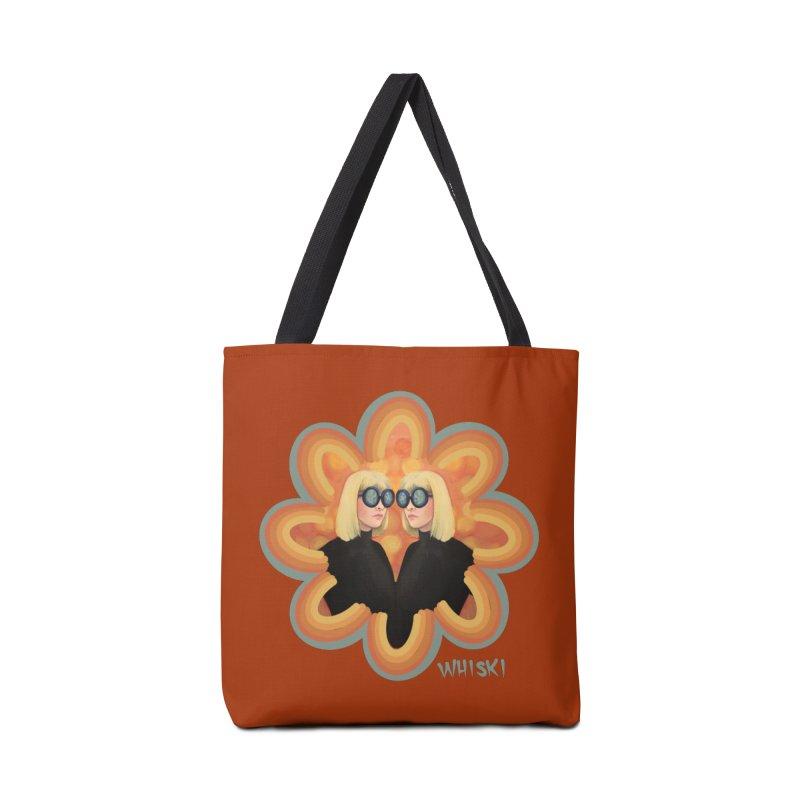 Retro Mod Evil Twins by Krissy Whiski Accessories Bag by Whiski Tee