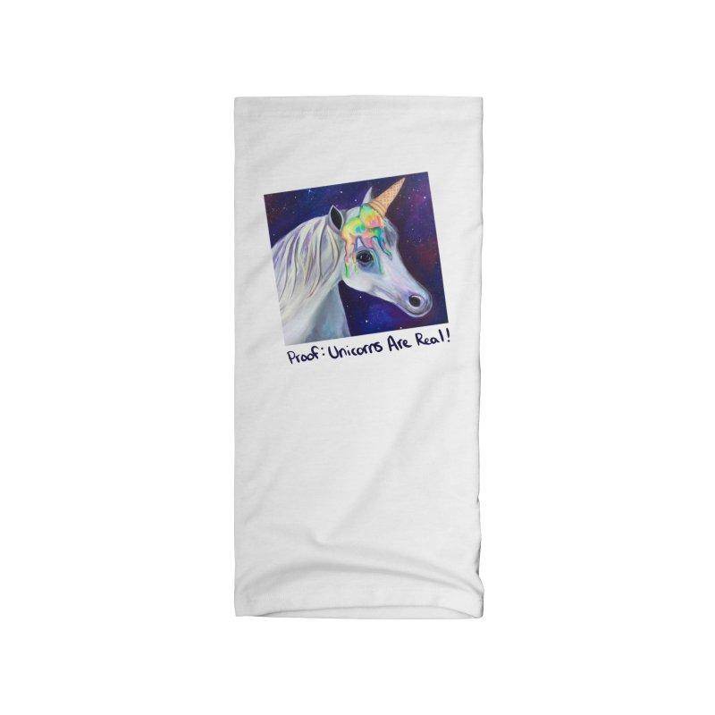 Cosmic Rainbow Sherbert Unicorn Accessories Neck Gaiter by Whiski Tee