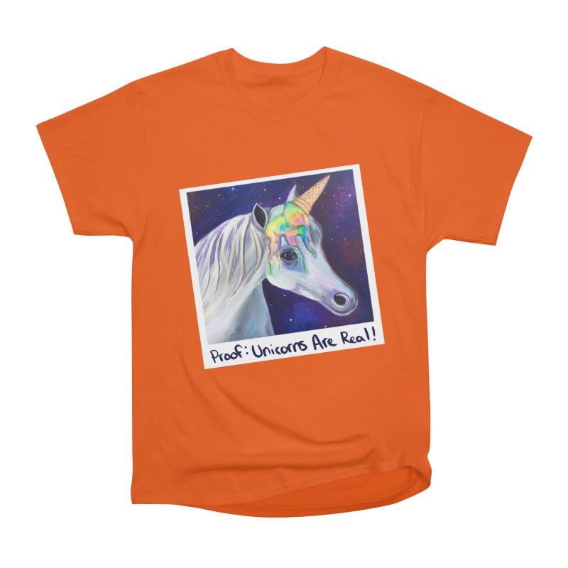 Cosmic Rainbow Sherbert Unicorn Men's T-Shirt by Whiski Tee