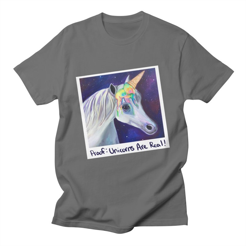 Cosmic Rainbow Sherbert Unicorn Men's T-Shirt by Whiski Tee