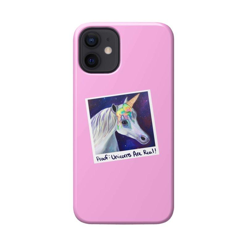 Cosmic Rainbow Sherbert Unicorn Accessories Phone Case by Whiski Tee