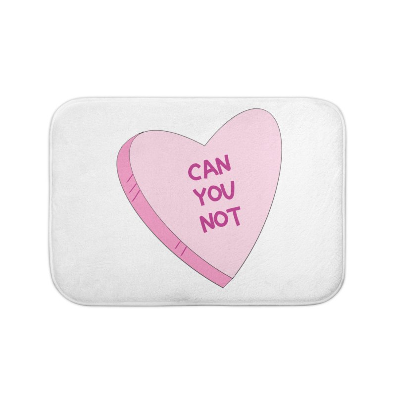 Can You Not Home Bath Mat by Whiski Tee