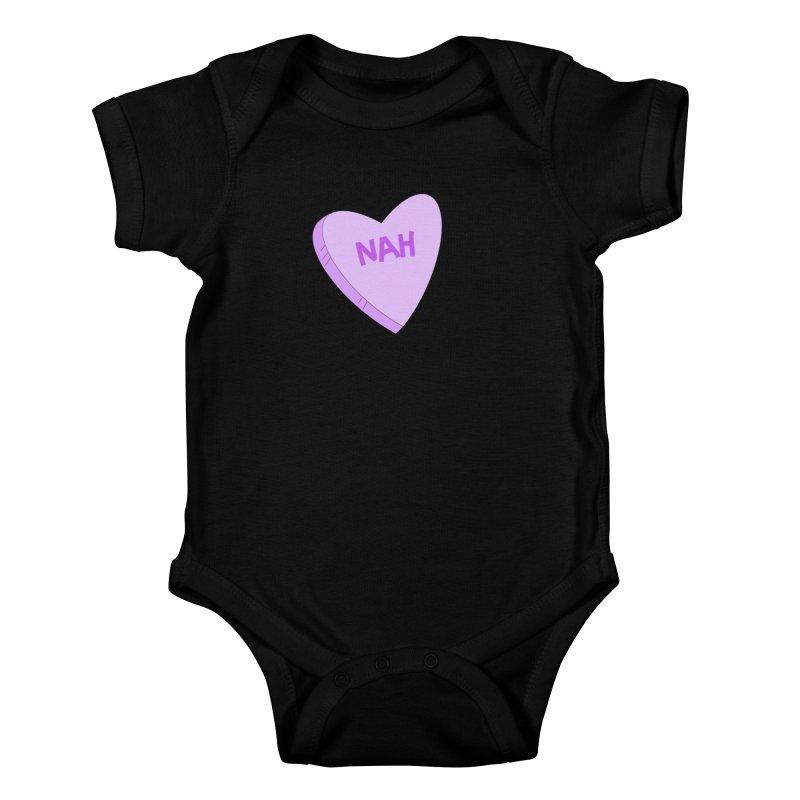 Nah Love Kids Baby Bodysuit by Whiski Tee