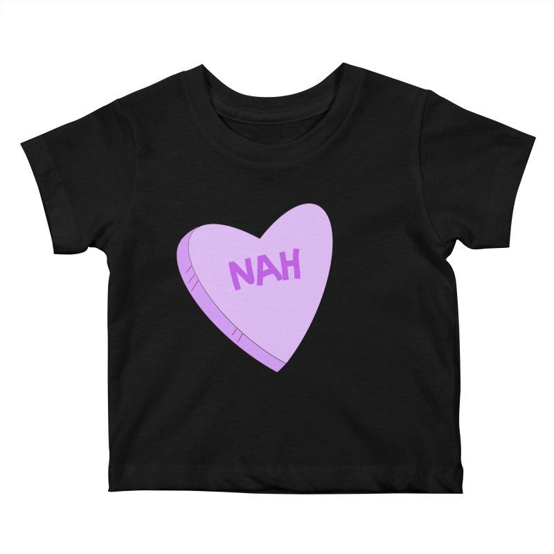 Nah Love Kids Baby T-Shirt by Whiski Tee