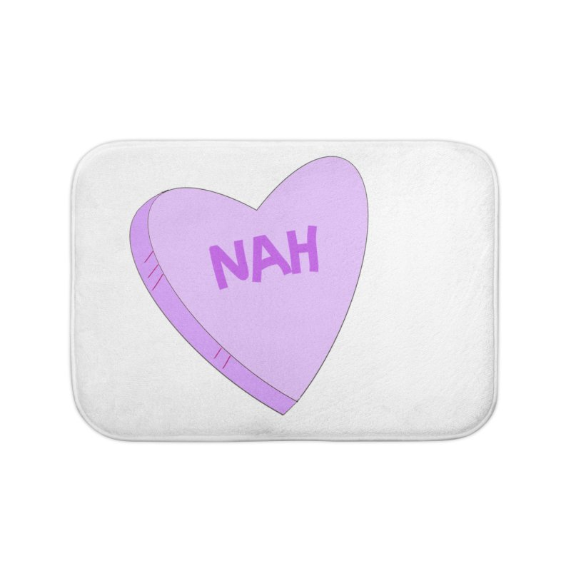 Nah Love Home Bath Mat by Whiski Tee