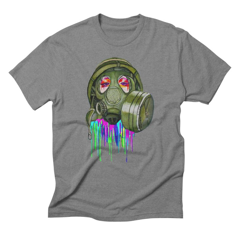 Gas Mask Girl Men's T-Shirt by Whiski Tee