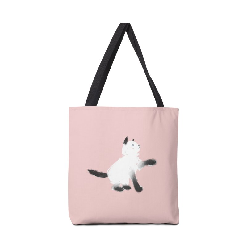 Playing in Tote Bag by Kristin Tipping