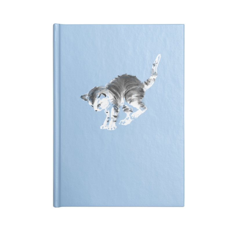 Pounce Accessories Lined Journal Notebook by Kristin Tipping