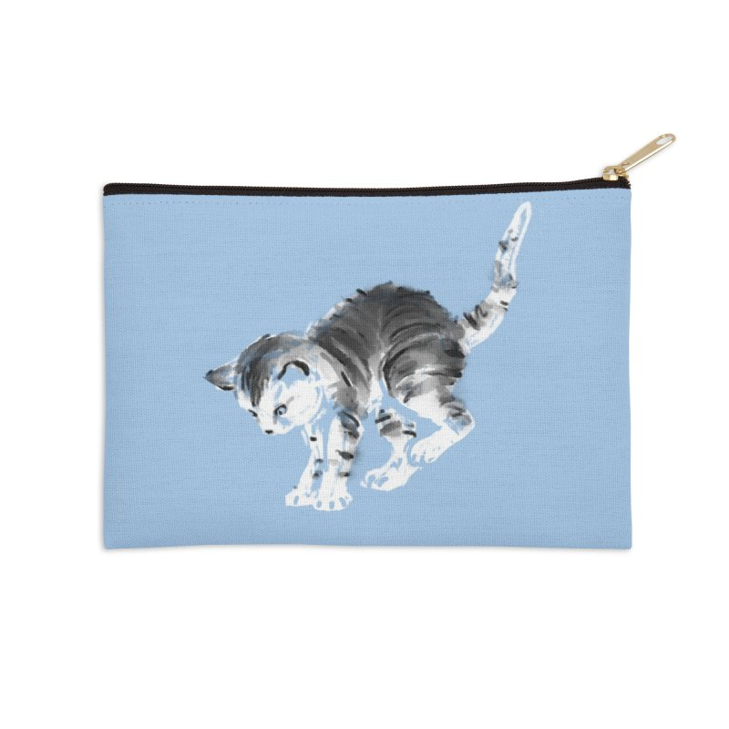 Pounce Accessories Zip Pouch by Kristin Tipping