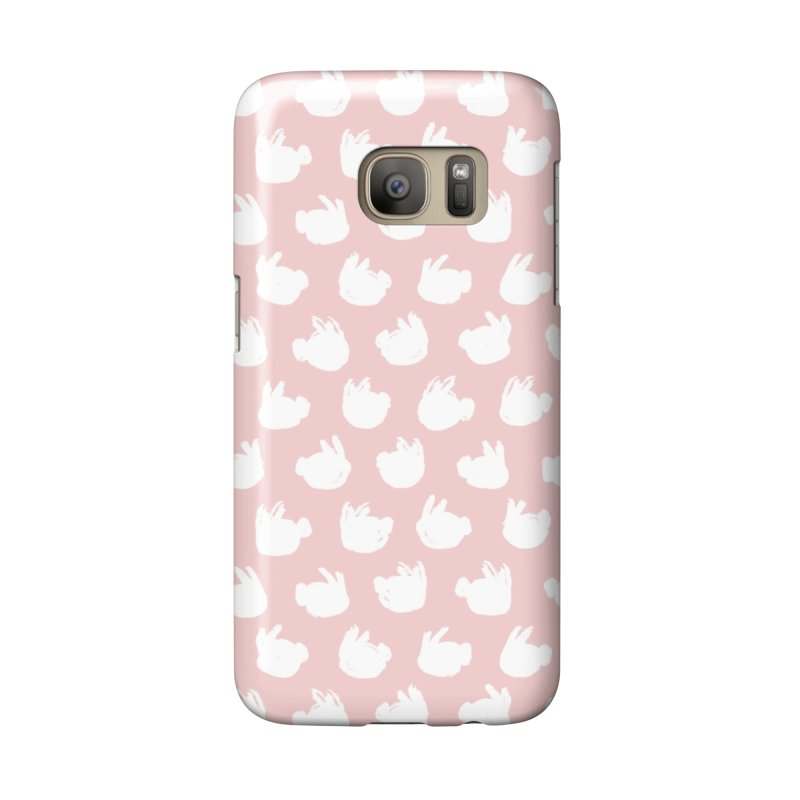 Fluff Bunnies Pattern Accessories Phone Case by Kristin Tipping