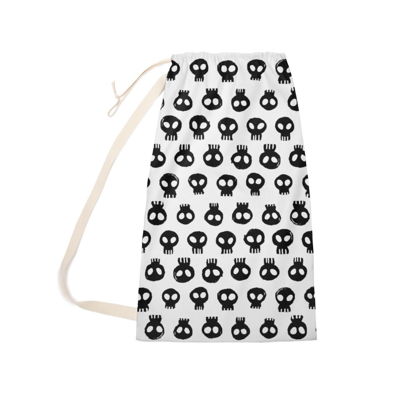 Mori Pattern Accessories Laundry Bag Bag by Kristin Tipping