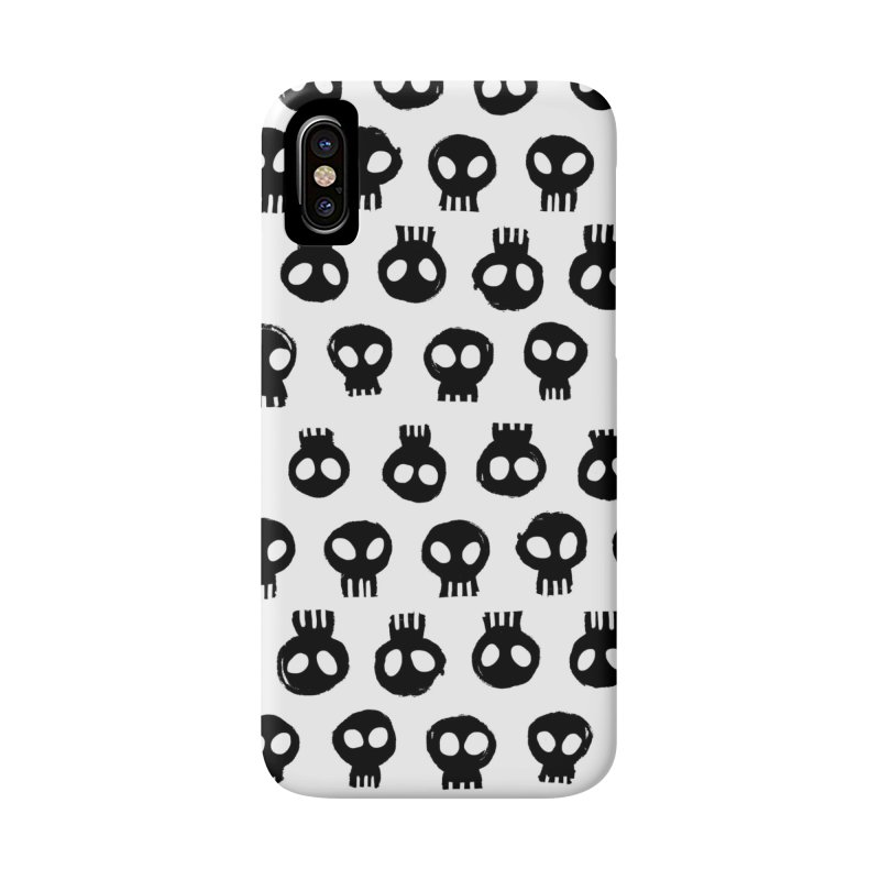 Mori Pattern in iPhone X / XS Phone Case Slim by Kristin Tipping
