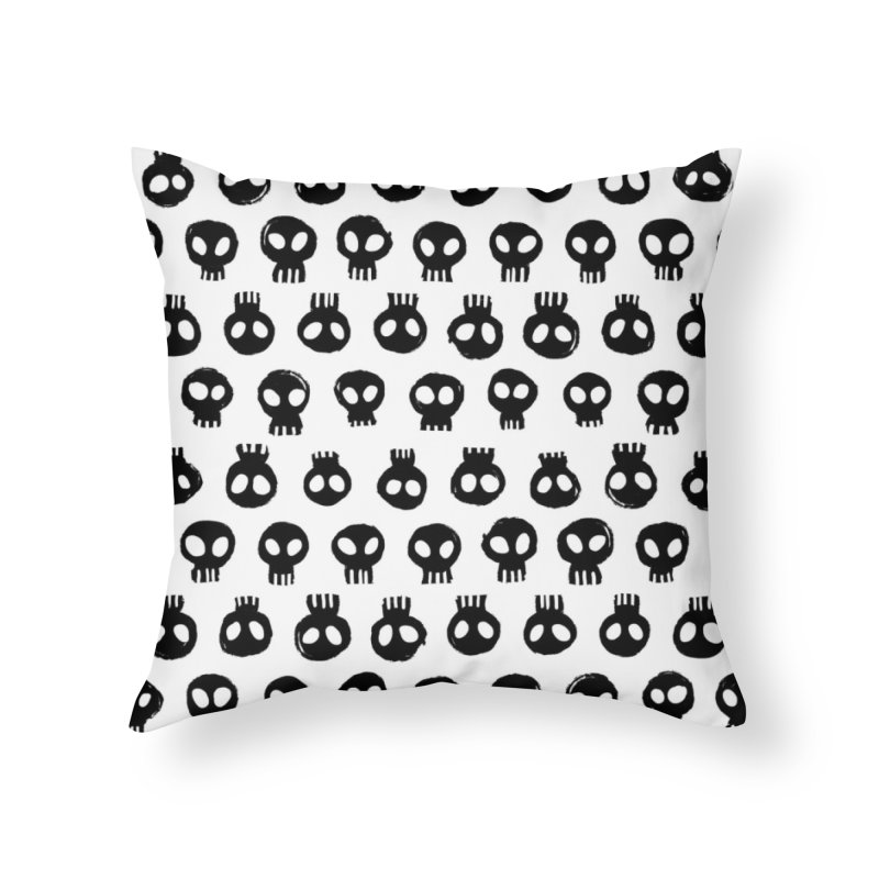 Mori Pattern Home Throw Pillow by Kristin Tipping