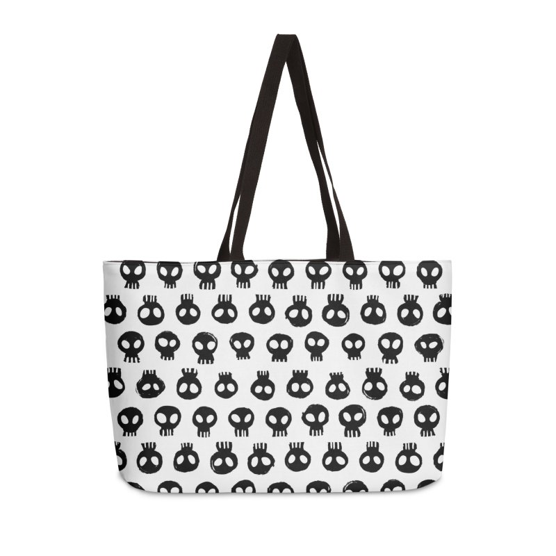 Mori Pattern Accessories Weekender Bag Bag by Kristin Tipping