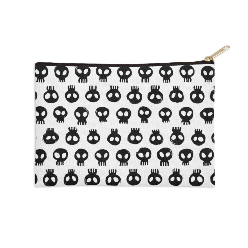 Mori Pattern Accessories Zip Pouch by Kristin Tipping