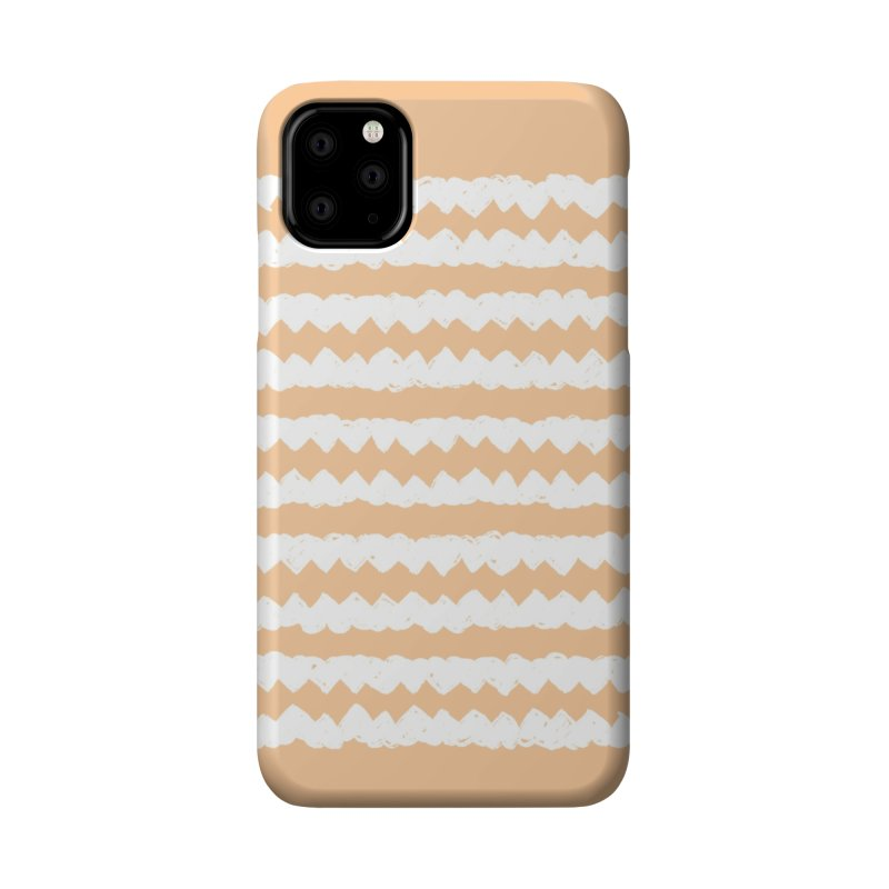 Squiggle-Zig Pattern Accessories Phone Case by Kristin Tipping