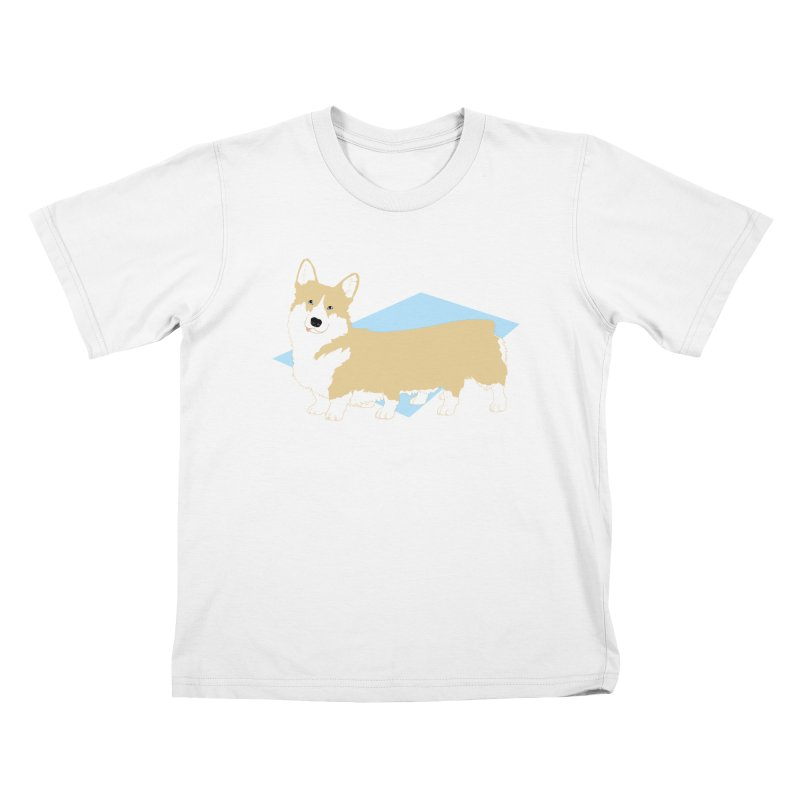 Corgipede Kids T-Shirt by Kristin Tipping