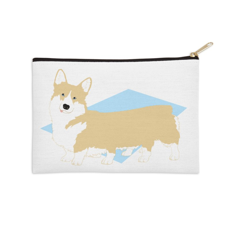 Corgipede Accessories Zip Pouch by Kristin Tipping