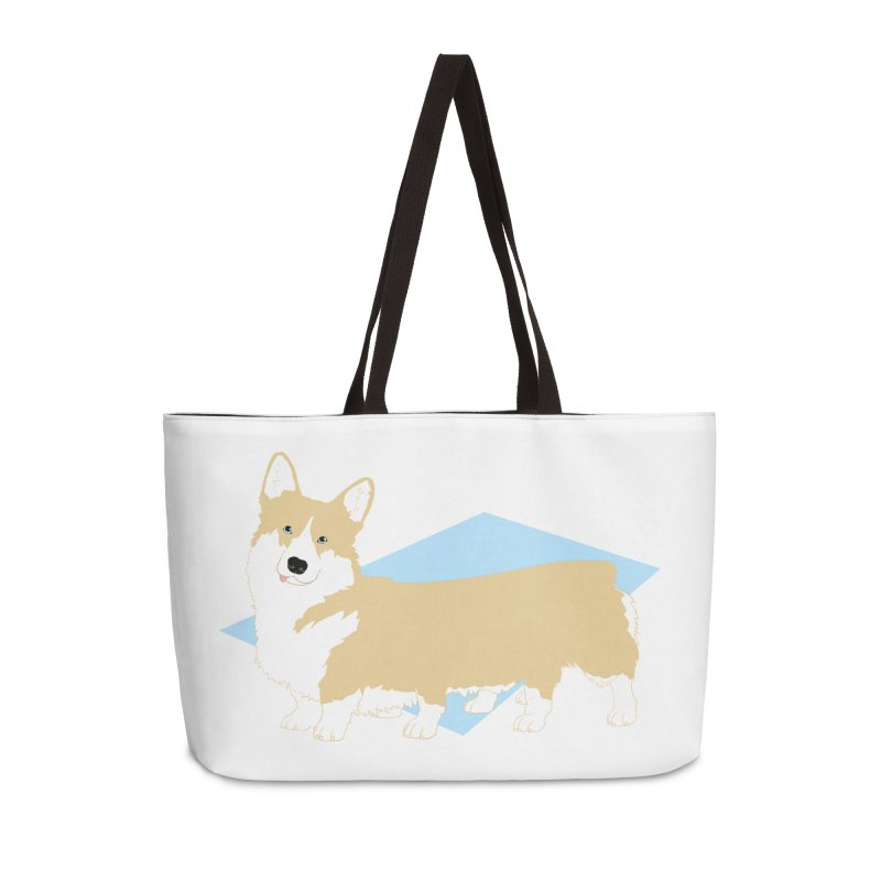 Corgipede in Weekender Bag by Kristin Tipping
