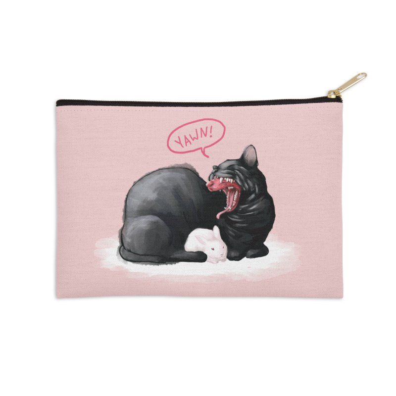 Yawn Accessories Zip Pouch by Kristin Tipping
