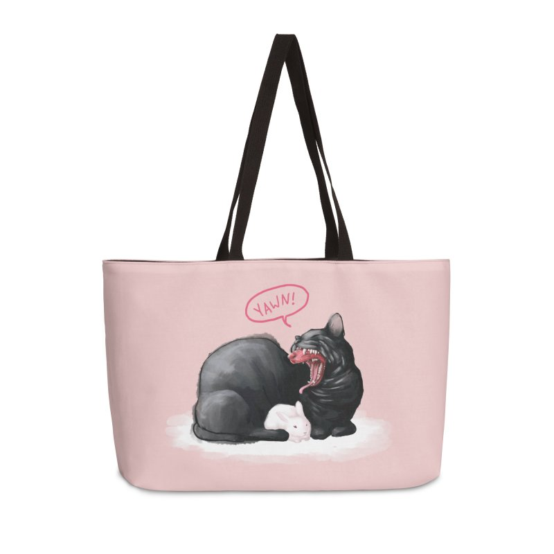 Yawn Accessories Bag by Kristin Tipping