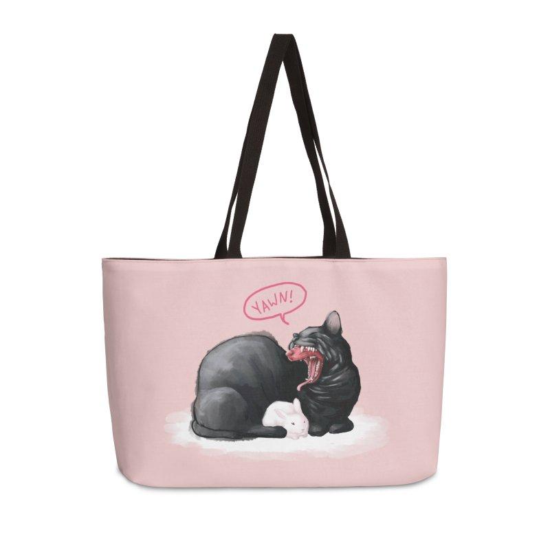 Yawn Accessories Weekender Bag Bag by Kristin Tipping