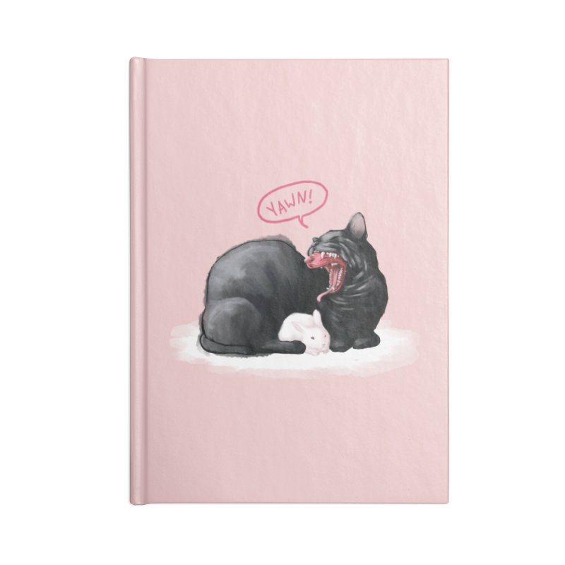 Yawn Accessories Notebook by kristintipping's Artist Shop