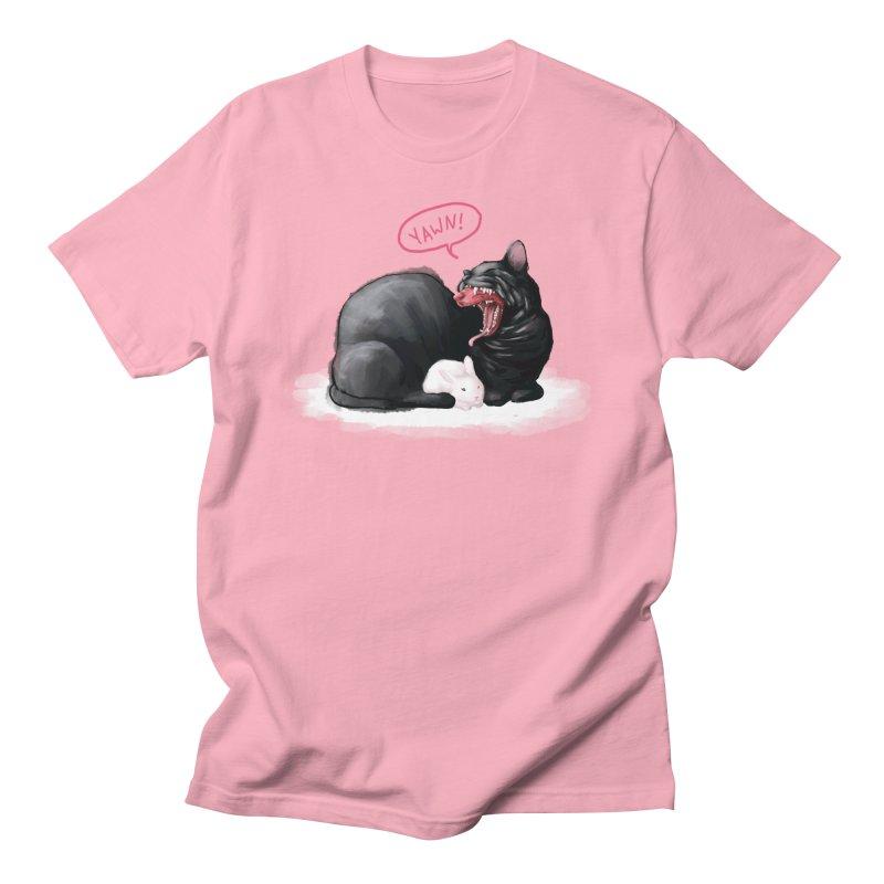 Yawn Men's T-Shirt by Kristin Tipping