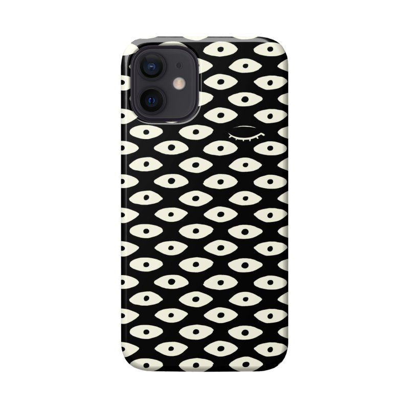 Wink Pattern Accessories Phone Case by Kristin Tipping