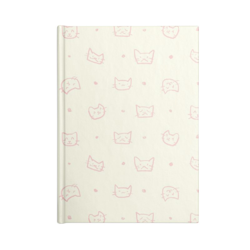 Kitties Pattern Accessories Notebook by kristintipping's Artist Shop