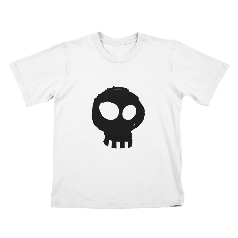 Mori in Kids T-Shirt White by Kristin Tipping