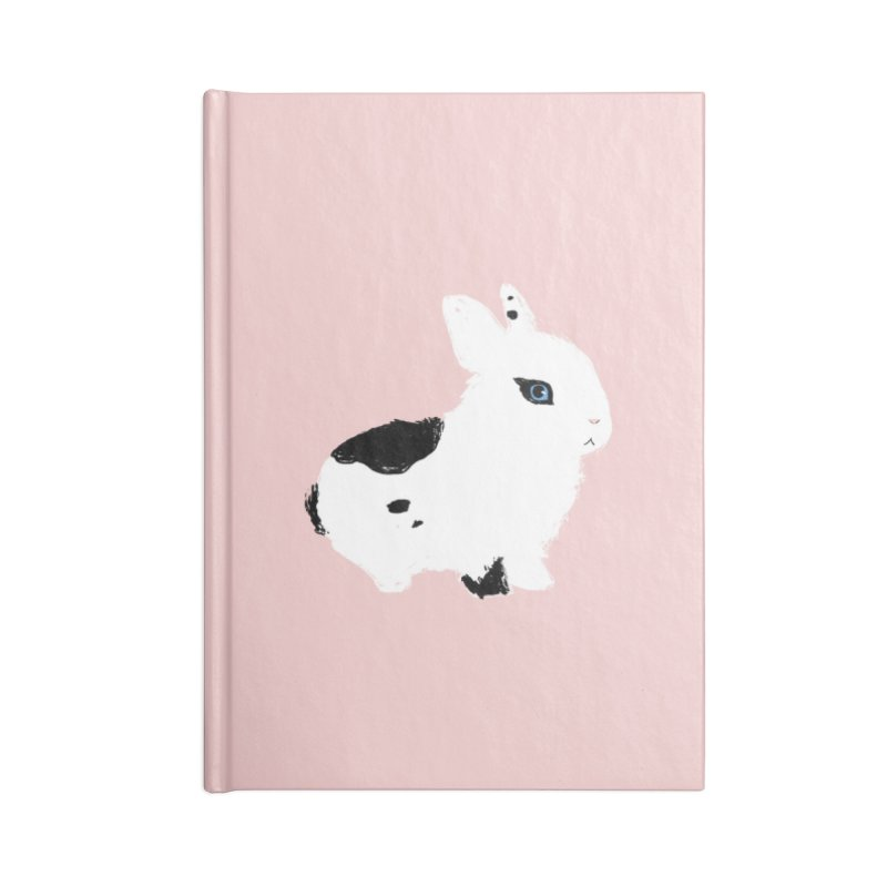 Patchwork Bun Accessories Lined Journal Notebook by Kristin Tipping