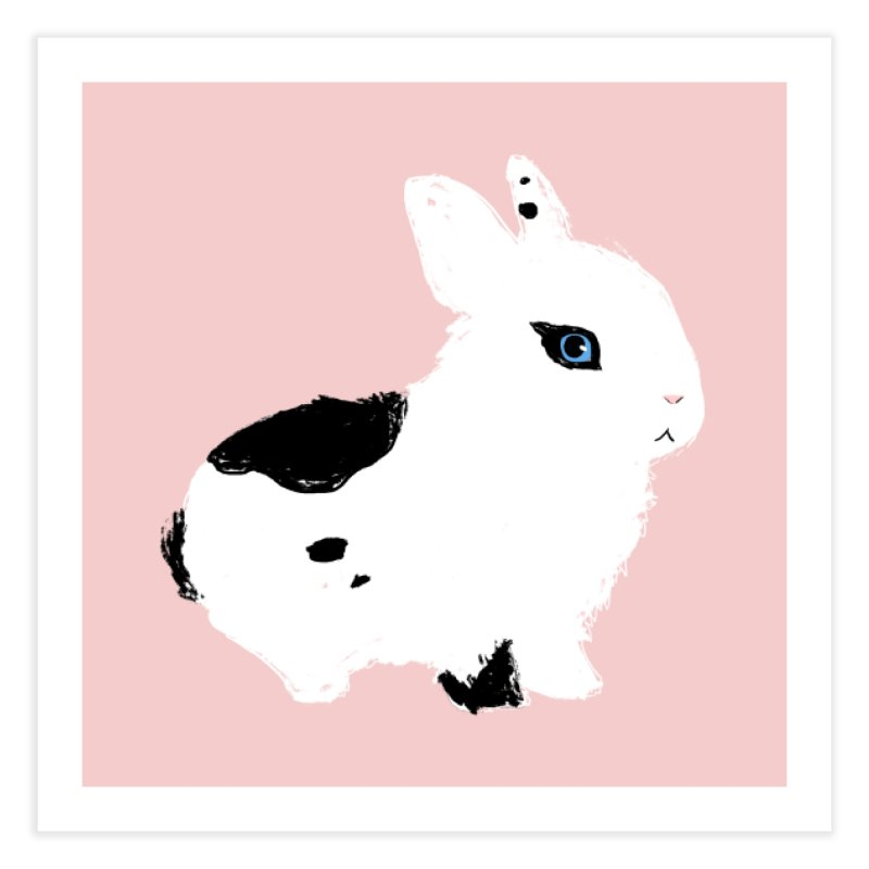 Patchwork Bun in Fine Art Print by Kristin Tipping