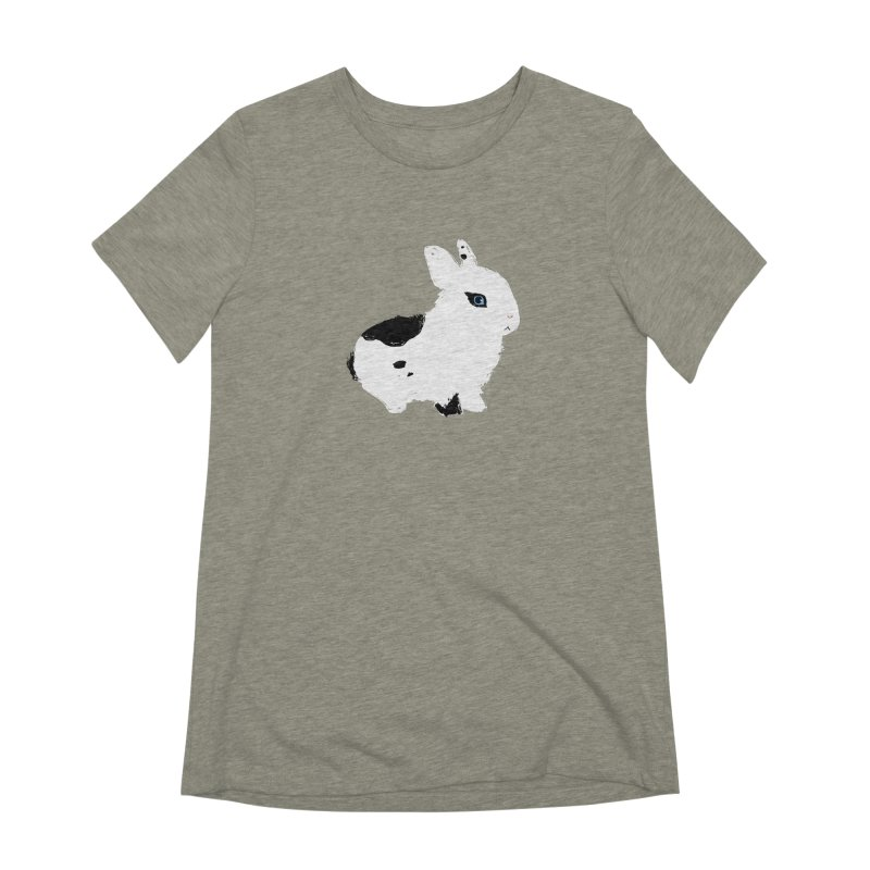 Patchwork Bun Women's Extra Soft T-Shirt by Kristin Tipping